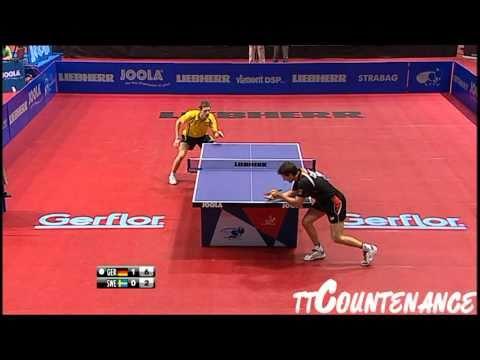 European Championships: Timo Boll-Robert Svensson