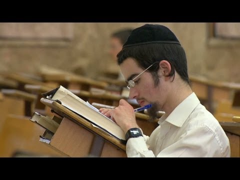 Ultra-Orthodox Jews In Israel Put Religious Studies First