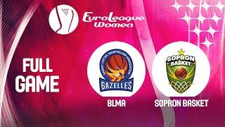 BLMA v Sopron Basket - Full Game - EuroLeague Women 2019-20