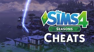 The Sims 4 Seasons: Cheats And How To Use Them