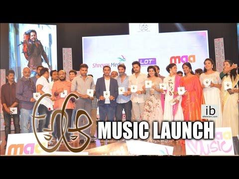A Aa music launch