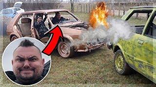 RAZBILI SMO OMČIN AUTO! 🔥💥 | TheSikrt w/ bosanska seljačina