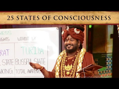 25 States of Consciousness, Experientially Explained (Sadash