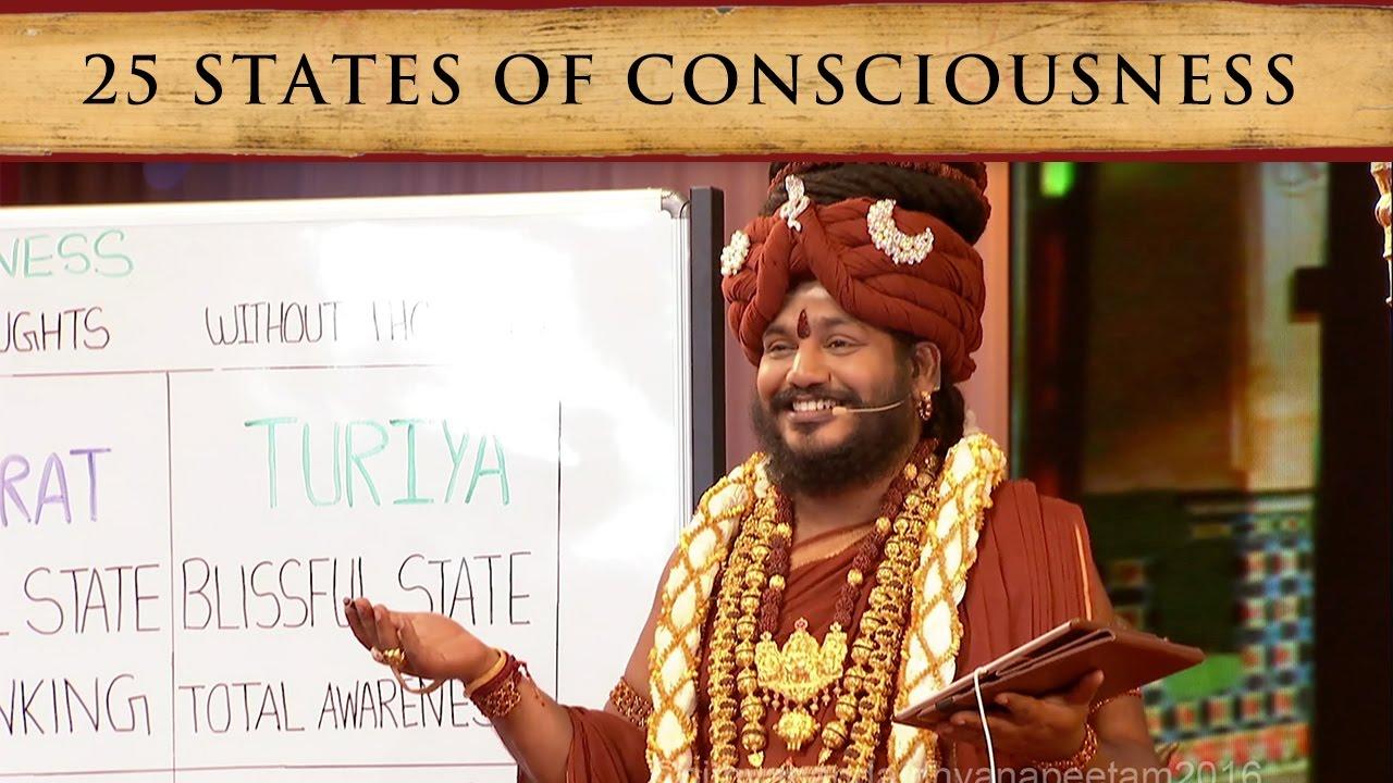 25 States of Consciousness, Experientially Explained (Sadashivoham Day 3 -  December 3 2016)