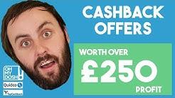 Cashback System Worth Over £250