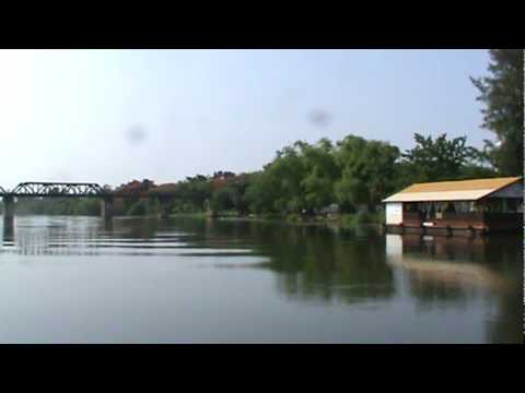 River Kwai Cruise Beneath Bridge.mpg