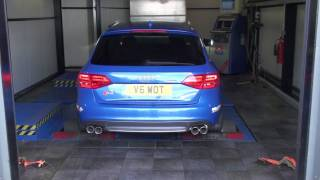 audi s4 3 0 v6 b8 makes big power with tuning