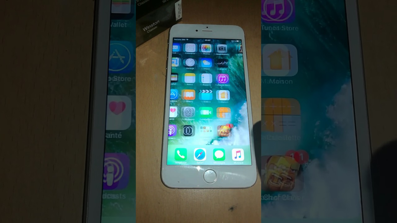 Panne Tactile Iphone 6 Plus Youtube