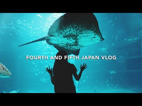 #travlog | JAPAN SUMER TRIP no. 4+5 | Osaka Aquarium Kaiyukan & Moving to Tokyo