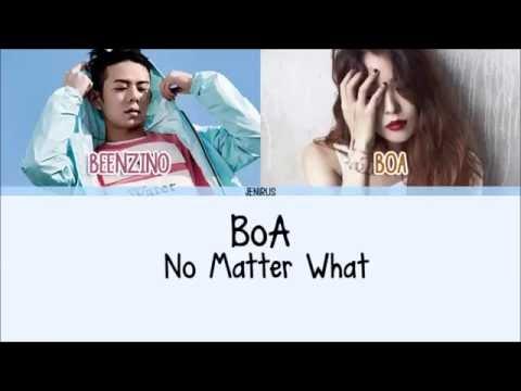 BoA & Beenzino - No Matter What [Han/Rom/Eng] Picture + Color Coded HD