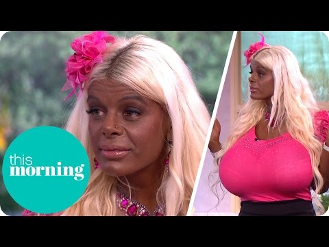 The Barbie Wannabe Addicted to Tanning and Desperate to Get Darker | This Morning
