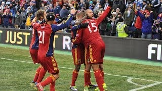 HIGHLIGHTS: Real Salt Lake at Sporting Kansas City | MLS Cup - Dec. 7, 2013