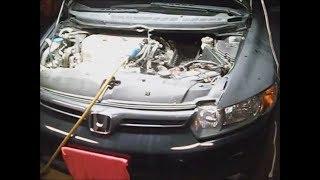 Хонда Цивік Сі `07 6-ступінчаста механічна коробка передач серії До заклинило на 4-ій передачі