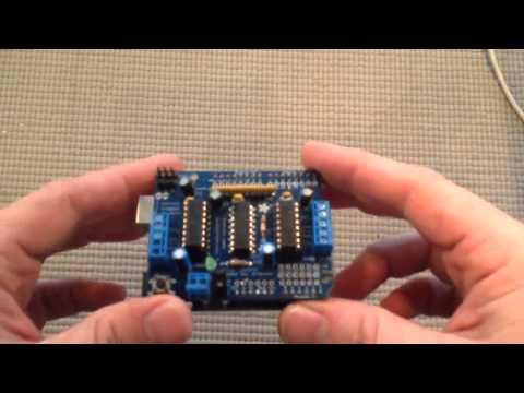 Arduino for Beginners   20 Using a Motor Shield