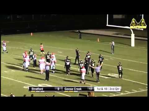 Football- Goose Creek vs. Stratford