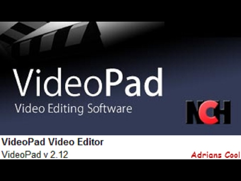 how to download videopad editor and install