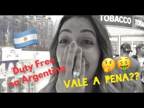 Duty free na Argentina, vale a pena?
