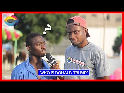 Who is DONALD TRUMP? | Street Quiz | Funny Videos | Funny Af