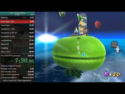 [SMG] Any% (Luigi) Speedrun - 2:25:34