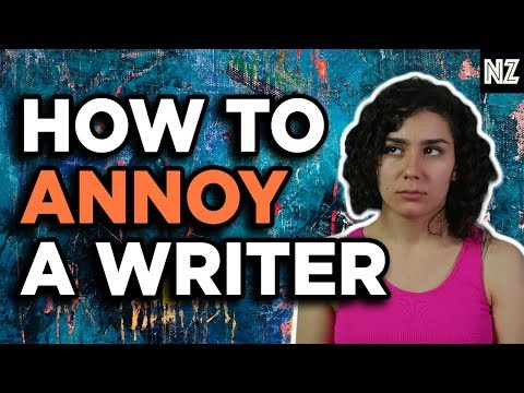 How To Annoy A Writer | Writing Skit