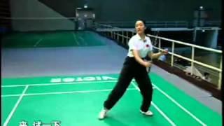 羽毛球教学 专家把脉【26】双打轮转站位 杀球击球技巧