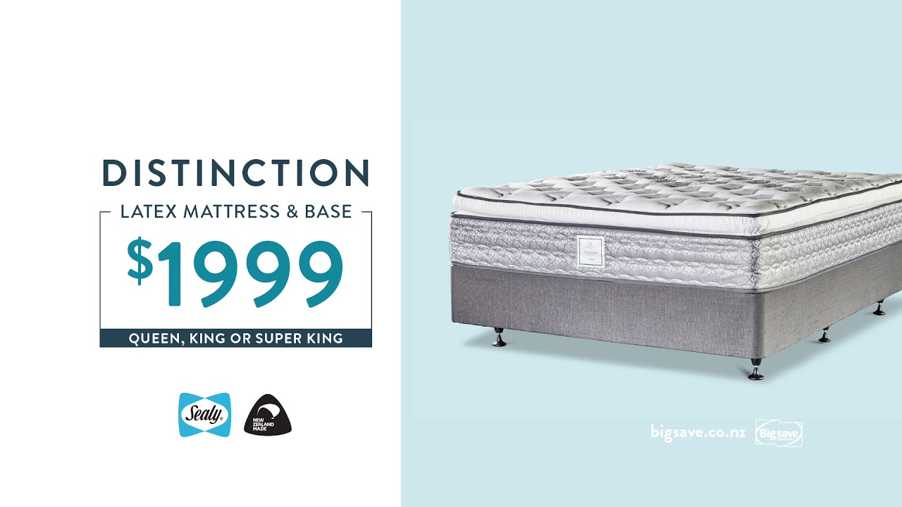 Distinction Bed 3 Sizes For 1999