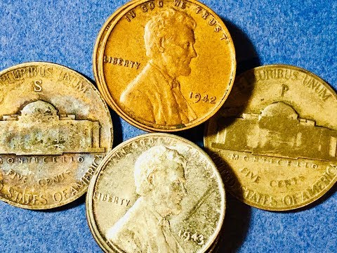 1942 Penny - Price Guide & Error Coins