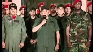 PRESIDENTE CHAVEZ ANUNCIA NUEVA SEDE DE 42 BRIGADA PARACAIDISTA.mpg