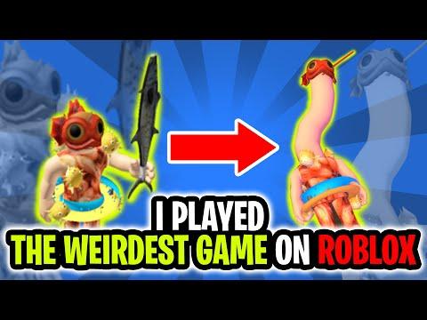 The Most DISTURBING Game On Roblox - Human Giraffe |