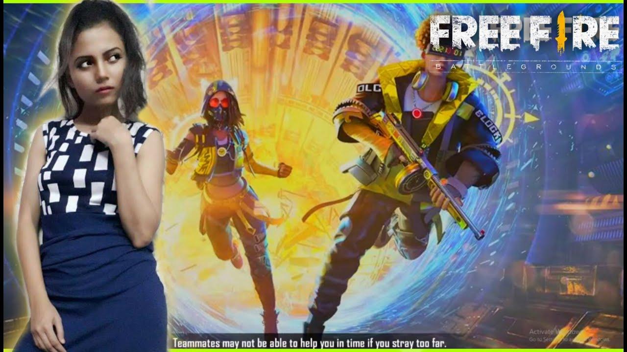 Free Fire Live - Miss Diya's Play With AWM | Garena Free Fire