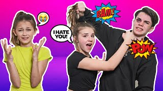ARGUING IN FRONT OF My CRUSH To See HOW SHE REACTS PRANK **SHE CRIED**😡🥊  Jentzen Ramirez