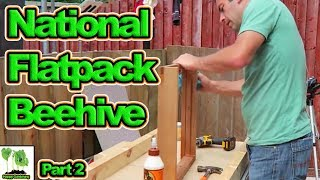 Building My First National Bee Hive Part 2