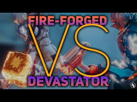 Burning Maul vs Hammers with Synthoceps (Hammer Damage Comparison) | Destiny 2 Forsaken