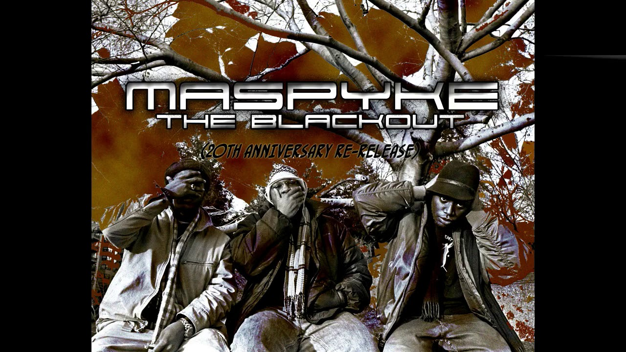 "MASPYKE - ""THE BLACKOUT 20th Anniversary album (re-release)"