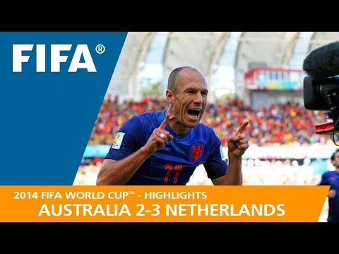 AUSTRALIA v NETHERLANDS 23 - 2014 FIFA World Cup™