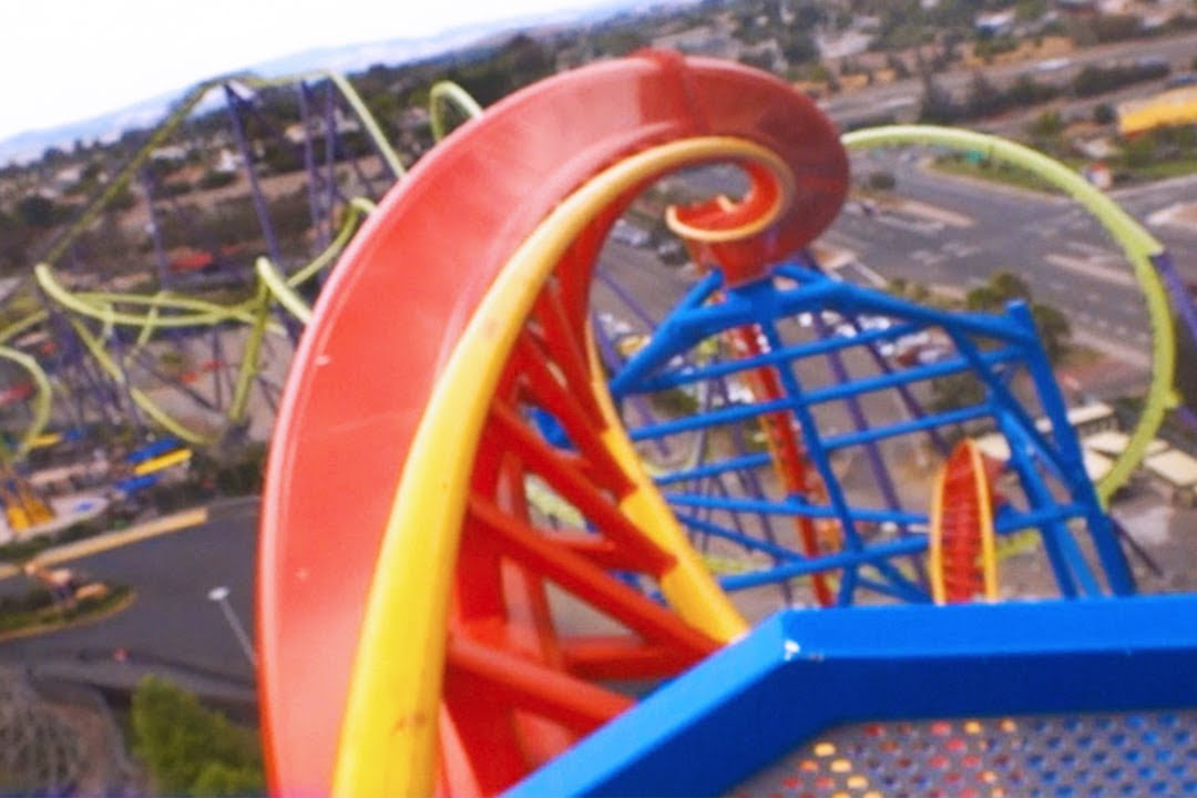 Front Hd Pov On Ride Six Flags Discovery Kingdom You