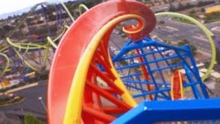 Superman Ultimate Flight! Real POV Front Six Flags Discovery Kingdom California