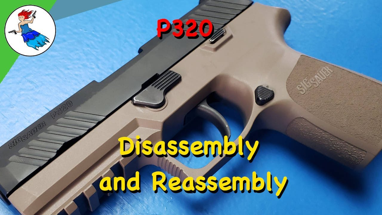 Sig P320 Disassembly and Reassembly