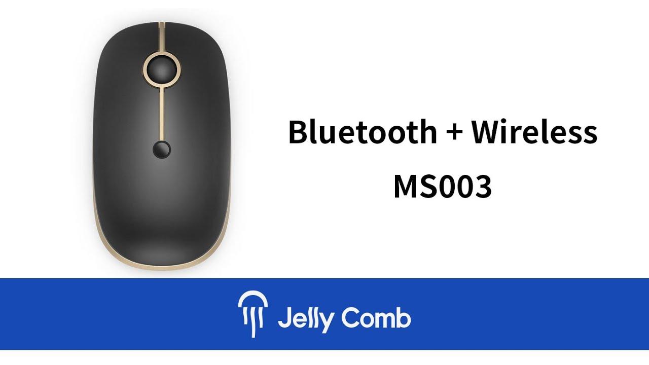 e5ccb593e23 Jelly Comb MS003 Bluetooth Wireless Mouse - YouTube