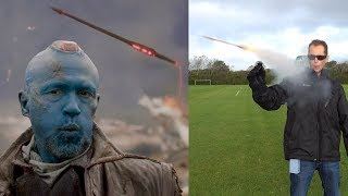 REAL YONDU Guardians of the Galaxy YAKA Arrows - BrainfooTV