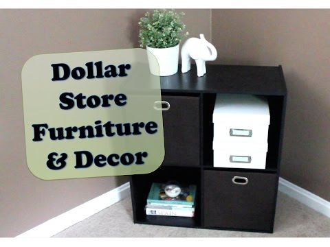 Dollar Store Furniture & Decor