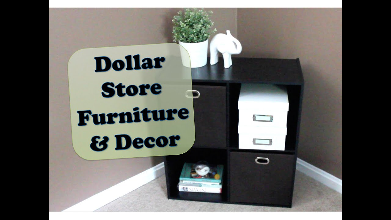 Dollar Store Furniture Decor YouTube - Family dollar bathroom makeover