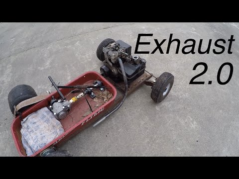 Rat Rod Wagon Header Fabrication (2.0)