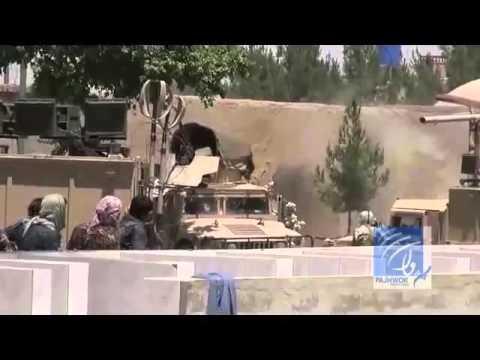 درگیری میان نیروهای امنیتی و افراد مسلح در هلمند