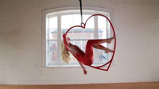 Valentines Themed Aerialist