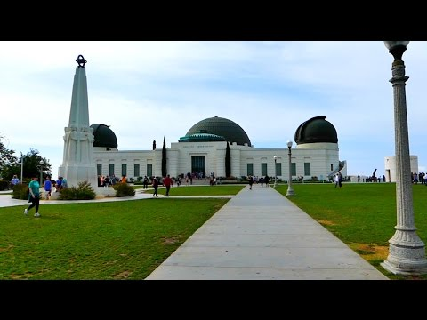 LOS ANGELES TRAVEL VLOG//Visiting Griffith Observatory