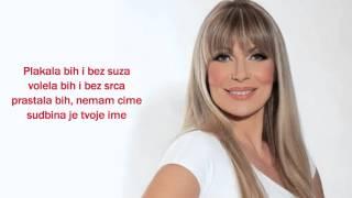 Suzana Jovanović - Plakala bih i bez suza - Lyrics