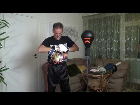 The Reflex Bag ( Punching Ball) OUTSHOCK.Распаковка и обзор напольной боксерской груши
