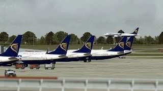 FSX - Stansted Traffic (with ATC)