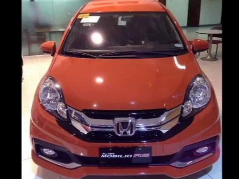 Honda Mobilio Sunset Orange Youtube